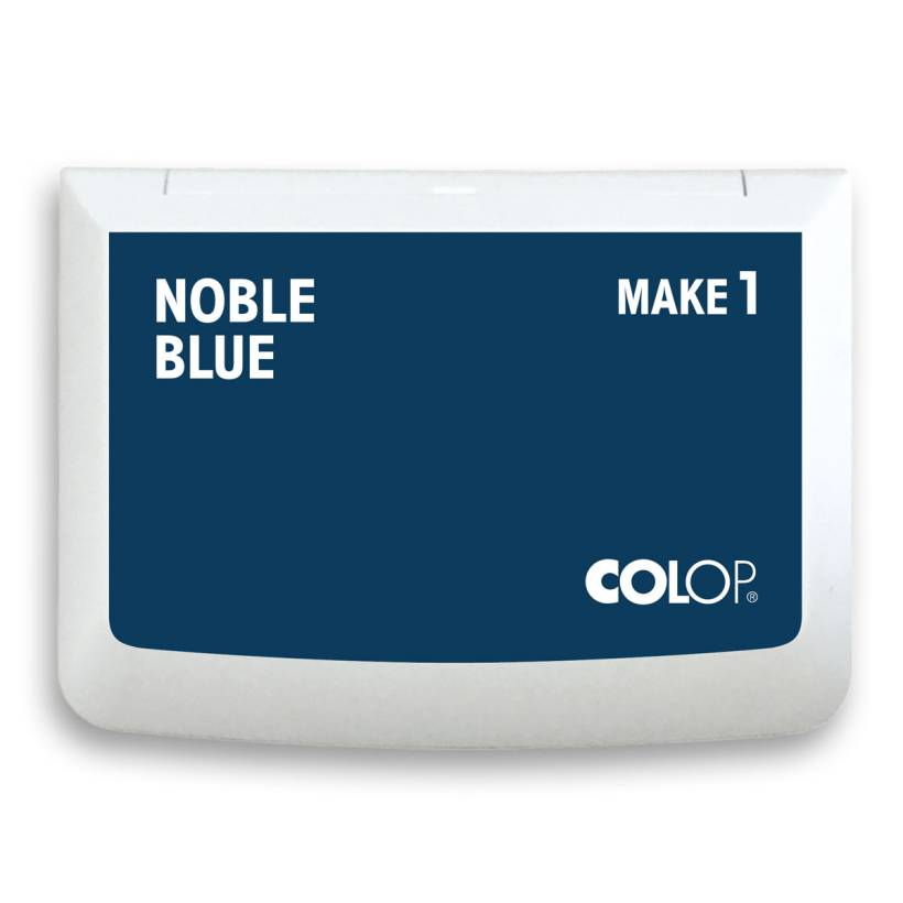 "COLOP Stempelkissen MAKE 1 ""noble blue"" (90x50 mm)"